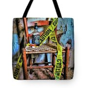 Set With Caution Tote Bag