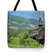 Seton Portage Church 2 Tote Bag