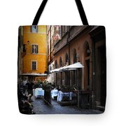 Setta Alley And Motorcycle Tote Bag