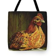 Setting Hen Tote Bag