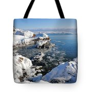 Setting Ice On Superior Tote Bag