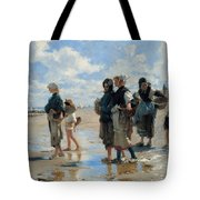 Setting Out To Fish Tote Bag