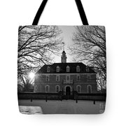 Setting Sun At The Capitol Tote Bag