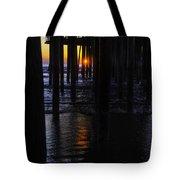 Setting Sun Pismo Beach Tote Bag