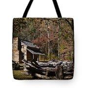 Settlers Cabin Tote Bag