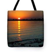 Settling Sun Tote Bag