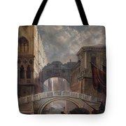 Seufzerbrucke Venice Tote Bag