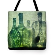 Seven Bottles Tote Bag