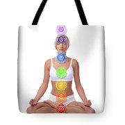 Seven Chakras Tote Bag