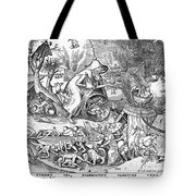 Seven Deadly Sins: Anger Tote Bag