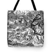 Seven Deadly Sins: Sloth Tote Bag