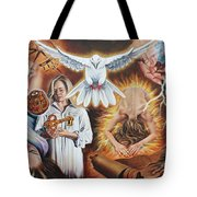 Seven-fold Spirit Of The Lord Tote Bag