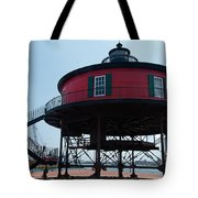 Seven-foot Knoll Lighthouse Tote Bag