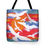 Seven Gifts Of The Holy Spirit Tote Bag