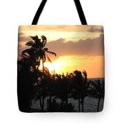 Seven Mile Sunset Tote Bag