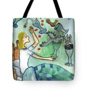 Seven Of Cups And Strange Dreams Tote Bag