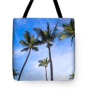 Seven Palms Of Paradise Tote Bag
