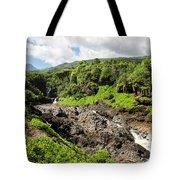 Seven Sacred Pools Ohe'o Mau Tote Bag