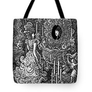 Seven Sins Greed Tote Bag