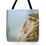 Seven Sisters Cliffs 17 Tote Bag