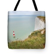 Seven Sisters Cliffs 19 Tote Bag