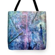 Seven Zippers Tote Bag