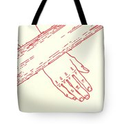 Seventh Station- Jesus Falls The Second Time  Tote Bag