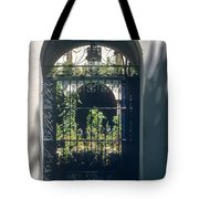 Seville City Courtyard Tote Bag