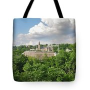 Seville Schofields Mill And St John The Baptist - Manayunk Tote Bag