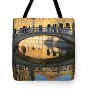 Seville, Spain Tile Bridge Tote Bag