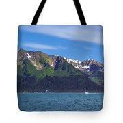 Seward Mountains Tote Bag