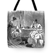 Sewing, 19th Century Tote Bag