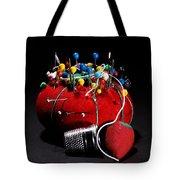 Sewing Equipment - Pin Cushion Tote Bag
