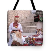 Sewing Souvenirs In Old Dubrovnik Tote Bag