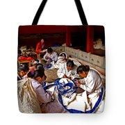 Sewing Tapestries Tote Bag