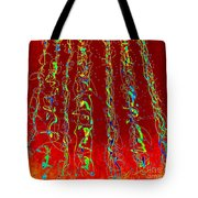 Sextet In Neon Tote Bag