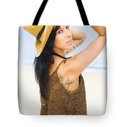 Sexy Beach Adventure Tote Bag