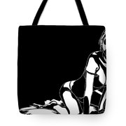 Sexy Black And White Tote Bag
