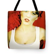Sexy Cleaning Lady Tote Bag