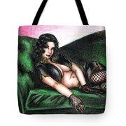 Sexy Flirt Tote Bag