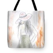 Sexy Lady Tote Bag