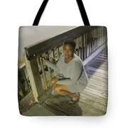 Sexy Night Lady 3 Tote Bag