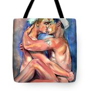 Sexy Sailors Tote Bag