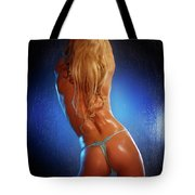 Sexy Young Woman Back Tote Bag