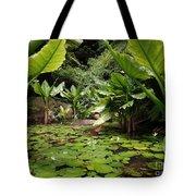 Seychelles Islands Pond Tote Bag