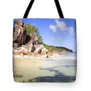 Seychelles Rocks Tote Bag