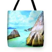 Seychelles Shallows Tote Bag
