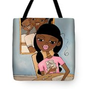 She Has Plans Tote Bag