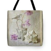 Shabby Chic Azalea Fantasy Tote Bag