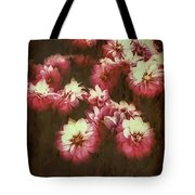 Shabby Chic Floral Design Tote Bag